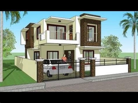 indian house plans and design 3d elevations and plans