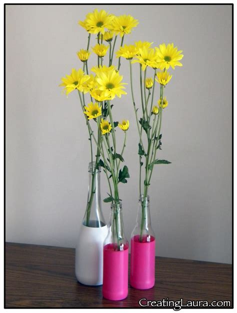 Spray Painted Vases by 1000 Images About Crafty Things On Diy