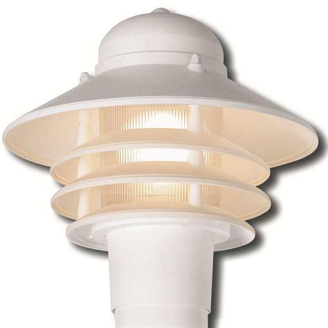 nautical outdoor lighting home depot hton bay 3 head white outdoor post light hb7017p 06