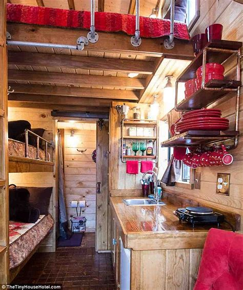 inside america s first tiny house hotel daily mail online
