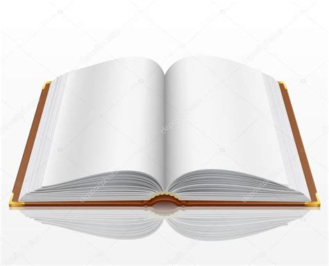 libro open open book with isolated on white stock vector 169 aviany 5995383