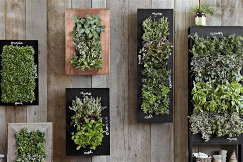 Chalkboard Wall Planters For Vertical Garden Styles Wall Garden Planter