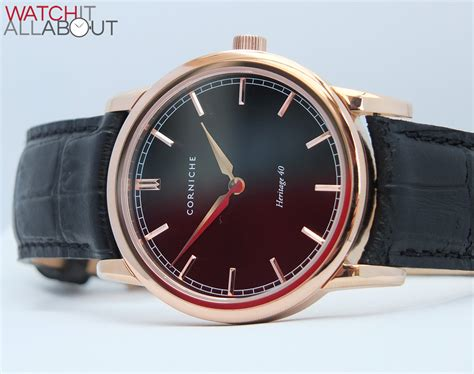 corniche watches review corniche heritage 40 review it all about