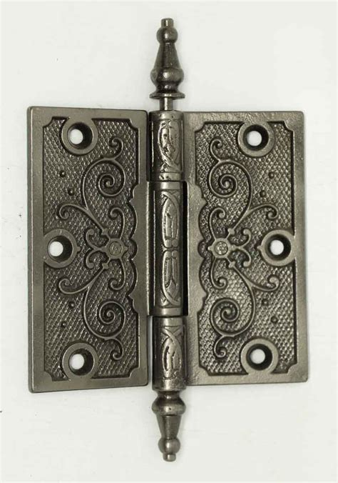 decorative door hinges iron victorian decorative hinge olde good things