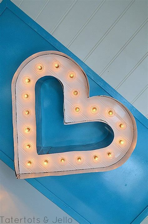 tutorial html marquee beadboard and metal marquee letter heart tutorial