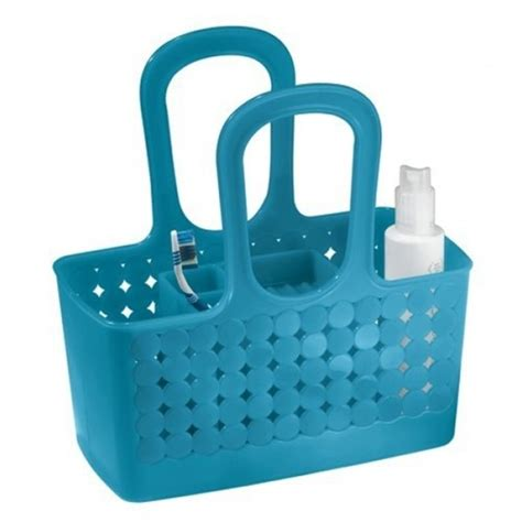 dorm bathroom caddy pin dorm caddy shower tote colors may vary12h x 8 diameter