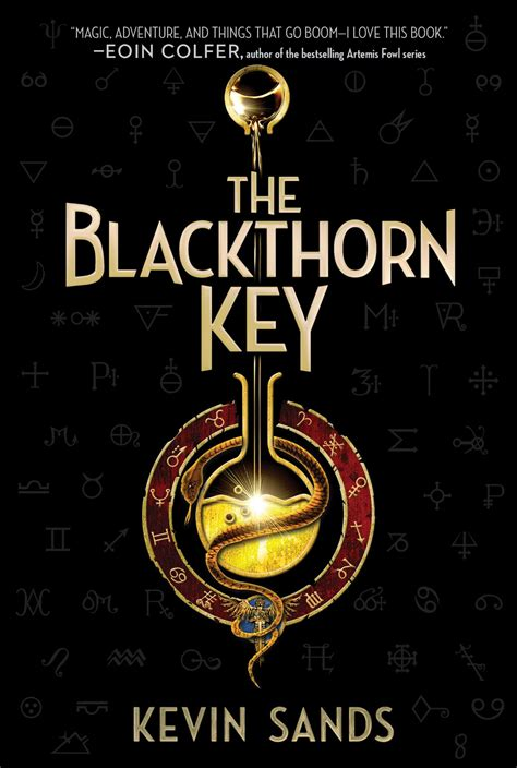 The Key the blackthorn key book by kevin sands official