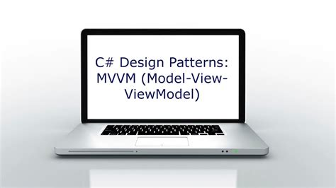 mvvm pattern youtube c design patterns mvvm model view viewmodel youtube