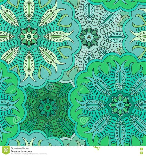 vector pattern eastern vector seamless pattern in eastern style vector