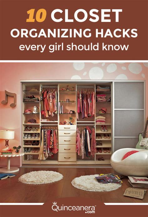 organizing hacks 10 closet organizing hacks every should quinceanera