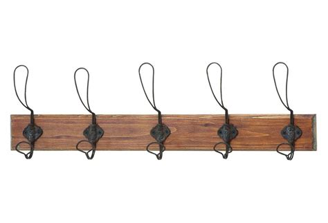 rustic wire wall hooks hooks mounted from one