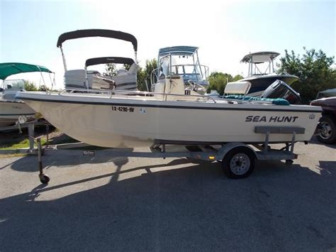 sea hunt boats texas used saltwater fishing sea hunt boats for sale in texas