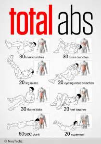 Ab Workout Total Abs Workout Nicetechz