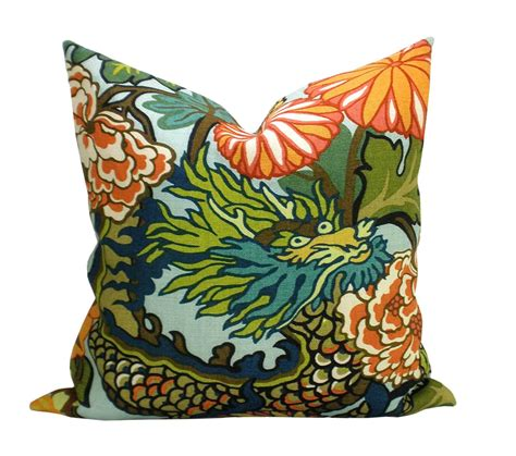 Chiang Mai Pillow by Pair Of Two Schumacher Chiang Mai Pillow By Sparkmodern