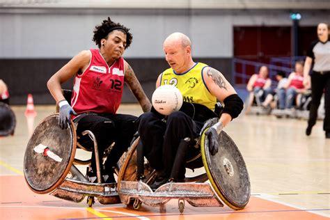 rolstoel rugby rolstoelrugby gehandicaptensport nederland