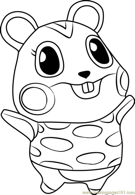 coloring pages of animal crossing new leaf apple animal crossing coloring page free animal crossing
