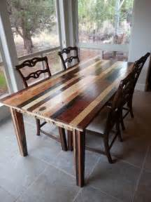 Dining Room Table Wood Dining Room Table I Made From Pallet Wood A Interior Design