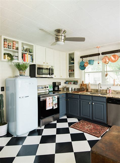 design sponge kitchen in florida the rustic bungalow of two florists design