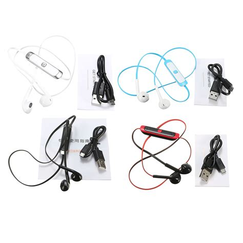 Wireless Earphone Bluetooth V4 0 wireless bluetooth v4 0 sports stereo headset headphone