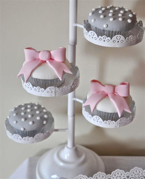 Gray And Pink Baby Shower by Pink And Gray Baby Shower Via Kara S Ideas Karaspartyideas Cake Printables Favors