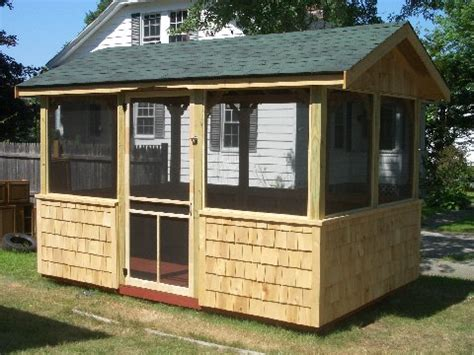 screen house plans here is a customer finished shed that we built a few years
