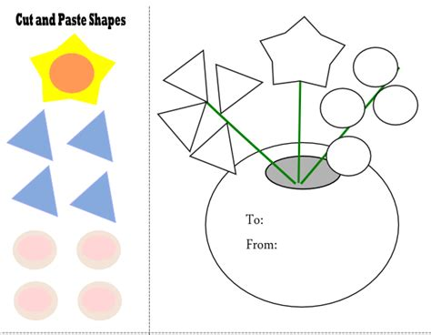 free printable preschool cut and paste worksheets cut and paste worksheet from paperandthepea com this site