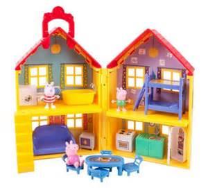 Peppa Pig House by Peppa Pig Peppas Deluxe House As Low As 20 54 Reg 40 00