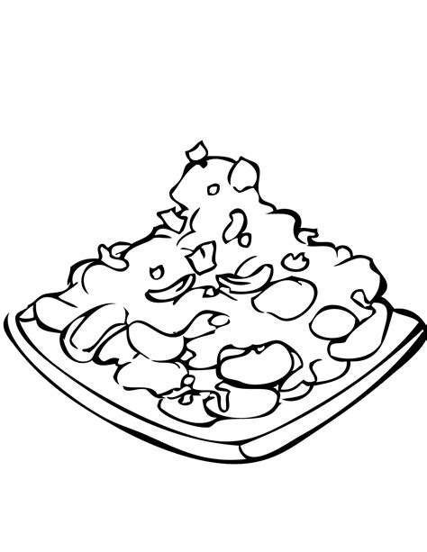 chicken line drawing clipart best
