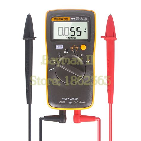 Multimeter Fluke 101 popular fluke multimeter buy cheap fluke multimeter lots