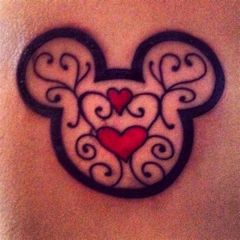 mickey mouse head tattoo designs mickey mouse tattoos mickey mouse