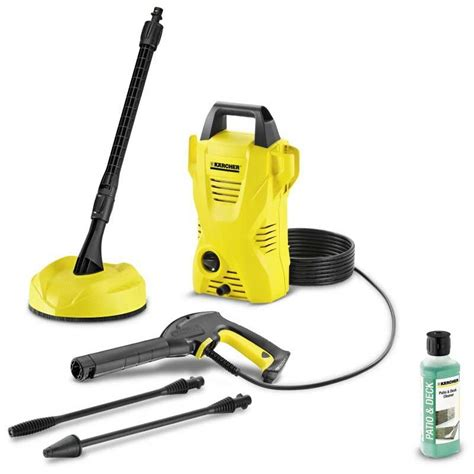 Karcher Patio Washer by Karcher K2 Compact Home Pressure Washer Patio Cleaner 4m
