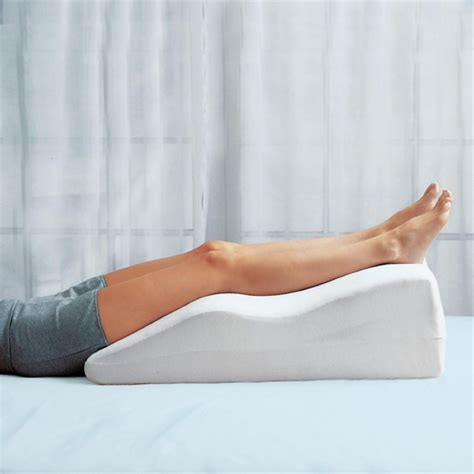 pillow to elevate legs in bed leg elevation pillows pillow fair