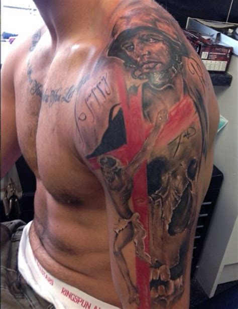 neck tattoo in the army men shoulder cover up with incredible army men face tattoo