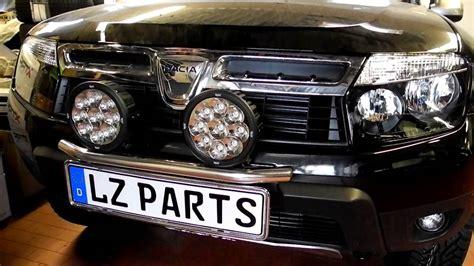 Led Zusatzscheinwerfer Auto by Dacia Duster Admirable Lzparts Mit Unibar Und Vision X