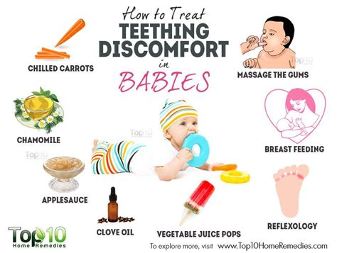 Home Remedies For Baby Fever by How To Treat Teething Discomfort In Babies Top 10 Home