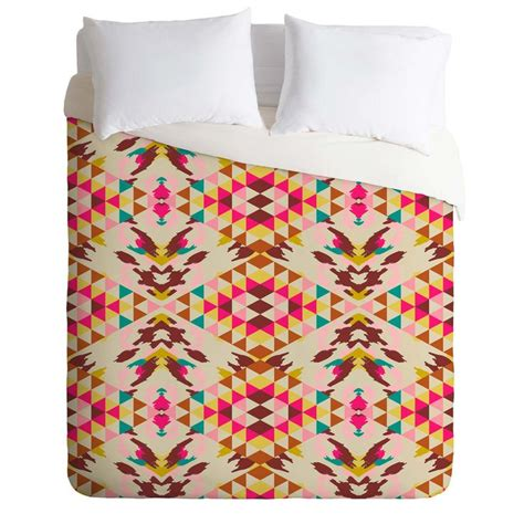 Deny Designs Bianca Green Follow Your Own Path Pink Twin Duvet Cover » Ideas Home Design