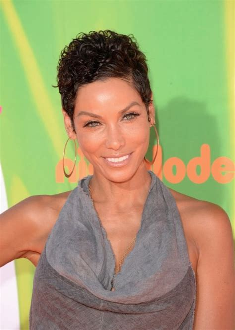 nicole mitchell short curly formal hairstyle dark 255 best images about nicole murphy on pinterest