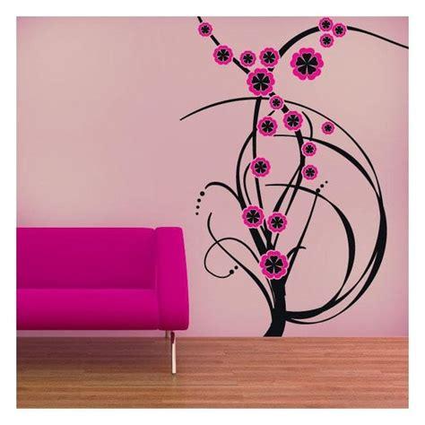 fiori di colore fiori di colore vinile decorativo