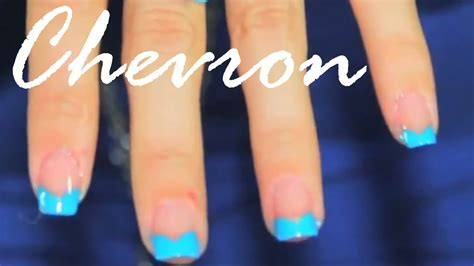 nail art tutorial funky blue zipper nail polish art tutorial quick easy funky blue tip