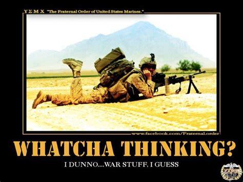 Us Military Memes - whatcha thinking ihatetheusmc