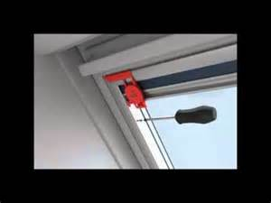 Red Window Blinds - velux blinds installation velux window blinds roofing how to youtube