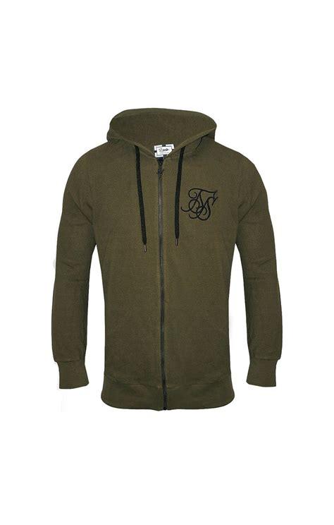 siksilk pique hoodie khaki siksilk from siksilk uk