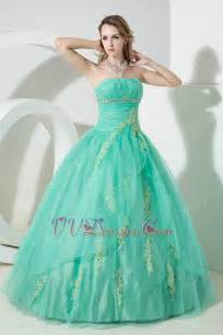 aqua colored dresses fashionable strapless turquoise blue quinceanera dress