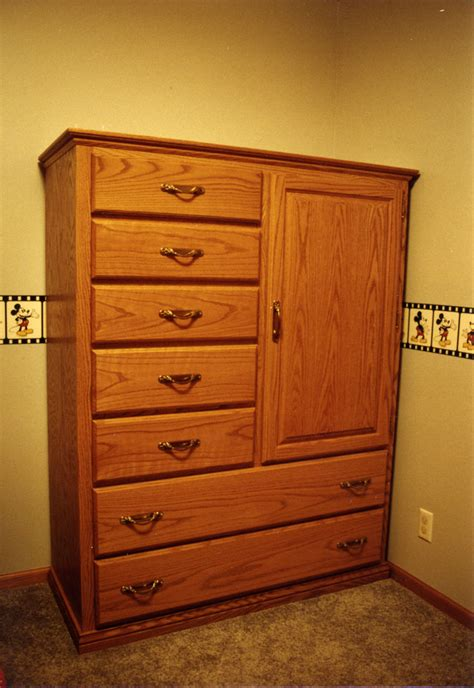 Oak Bedroom Dresser Bedroom Oak Children S Highboy Dresser 171 Ebben Custom Cabinets Furniture