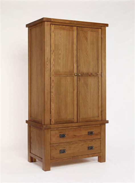 Single Wardrobe Rustic Oak Single Wardrobe Oak Furniture Solutions
