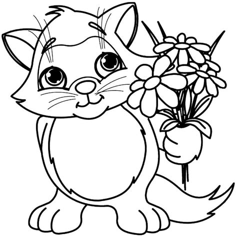 printable flower coloring pages flower coloring 365