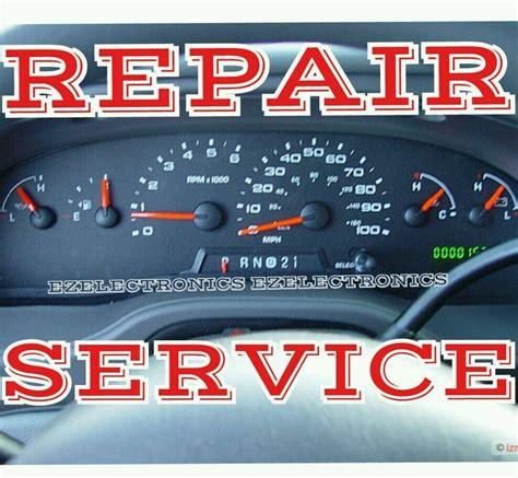 auto manual repair 1992 ford econoline e150 instrument cluster ford e150 e250 e350 e450 instrument cluster repair service 2004 to 2008 ebay