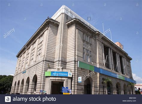 standard chattered bank standard chartered bank building in penang malaysia stock