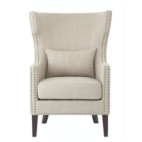 home decorators accent chairs home decorators collection bentley birch neutral linen