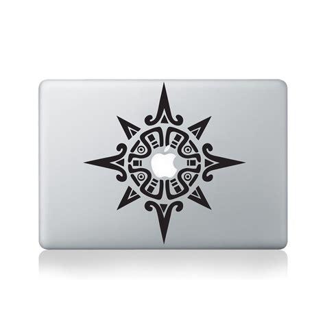 printable macbook stickers tribal spiky mandala vinyl decal for macbook 13 15